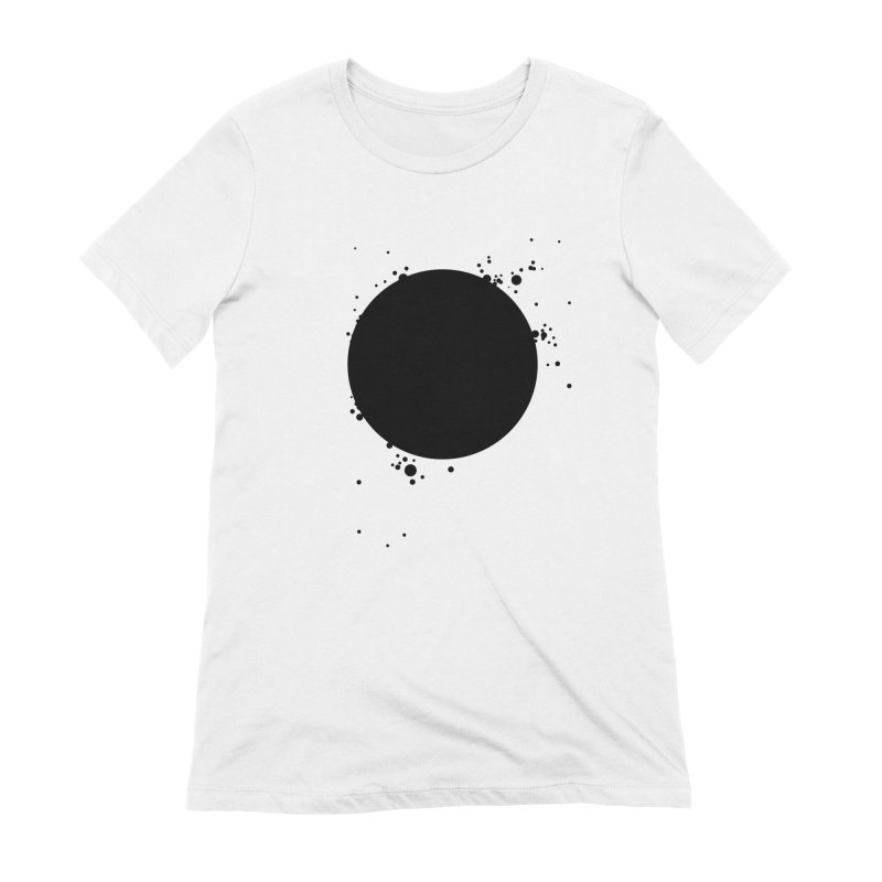 Black Hole Women's Extra Soft T-Shirt by I am a graphic designer