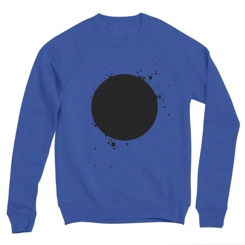 Black Hole Men's Sponge Fleece Sweatshirt by I am a graphic designer