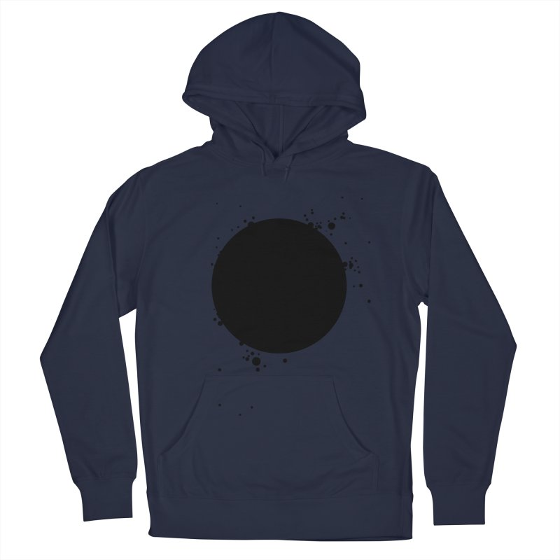 Black Hole Women's French Terry Pullover Hoody by I am a graphic designer