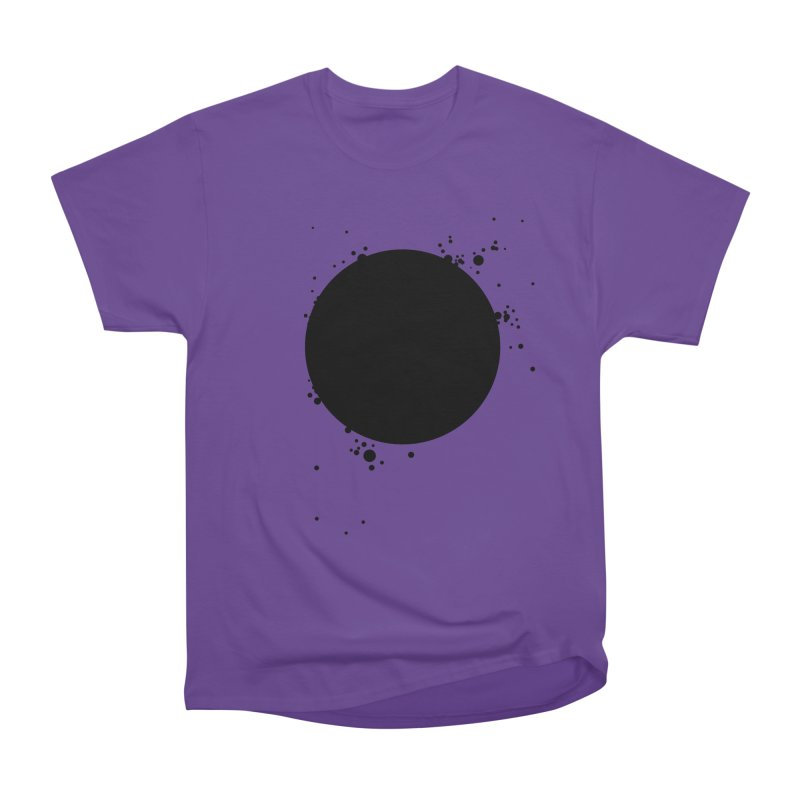 Black Hole Men's Heavyweight T-Shirt by I am a graphic designer