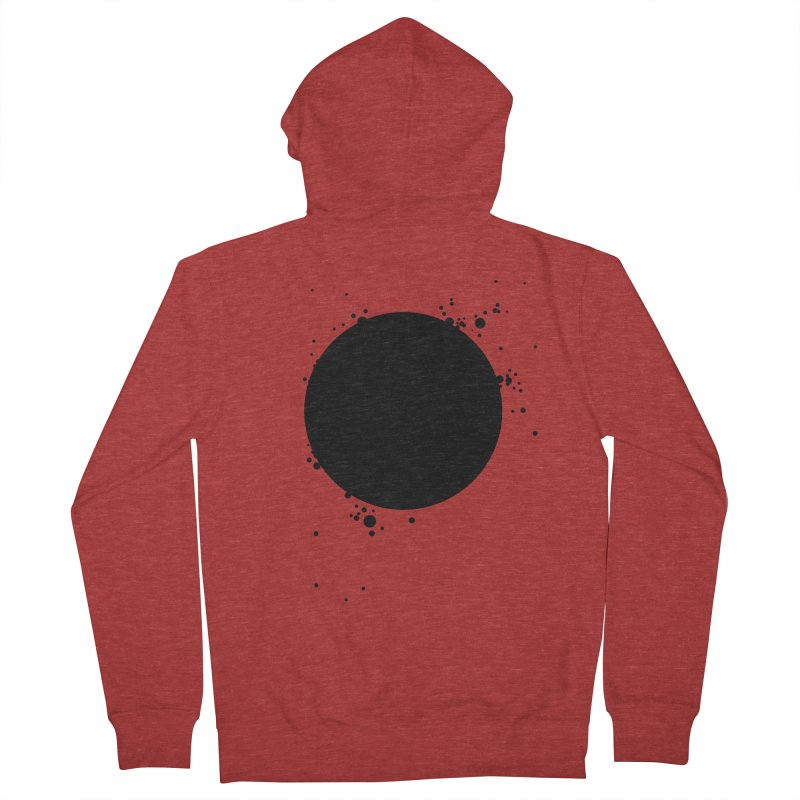 Black Hole Women's French Terry Zip-Up Hoody by I am a graphic designer
