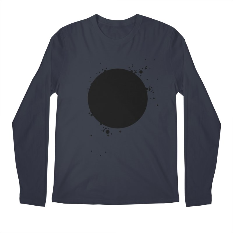 Black Hole Men's Regular Longsleeve T-Shirt by I am a graphic designer