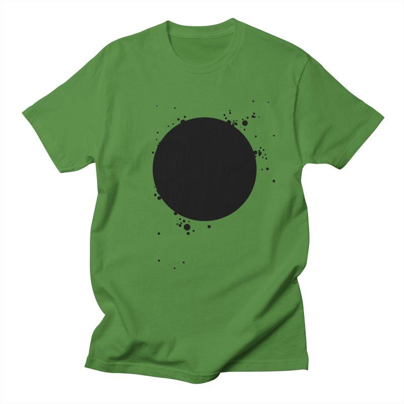 Black Hole Men's Regular T-Shirt by I am a graphic designer