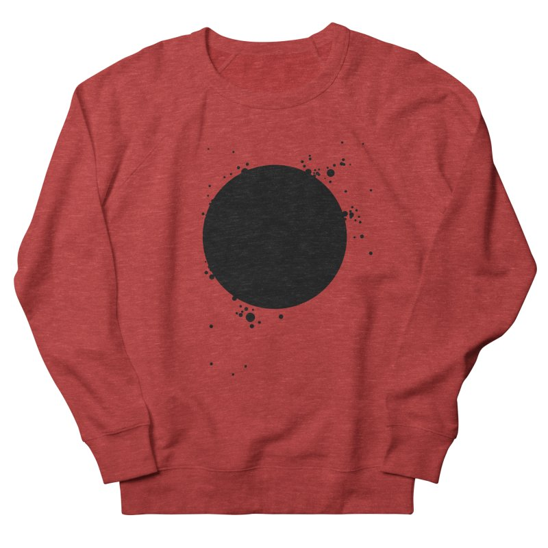 Black Hole Men's French Terry Sweatshirt by I am a graphic designer