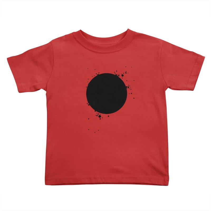Black Hole Kids Toddler T-Shirt by I am a graphic designer