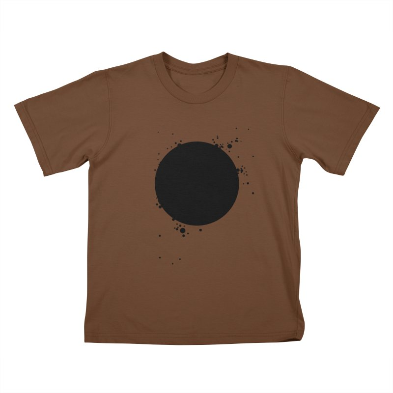 Black Hole Kids T-Shirt by I am a graphic designer