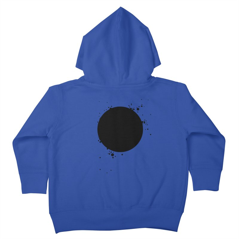 Black Hole Kids Toddler Zip-Up Hoody by I am a graphic designer