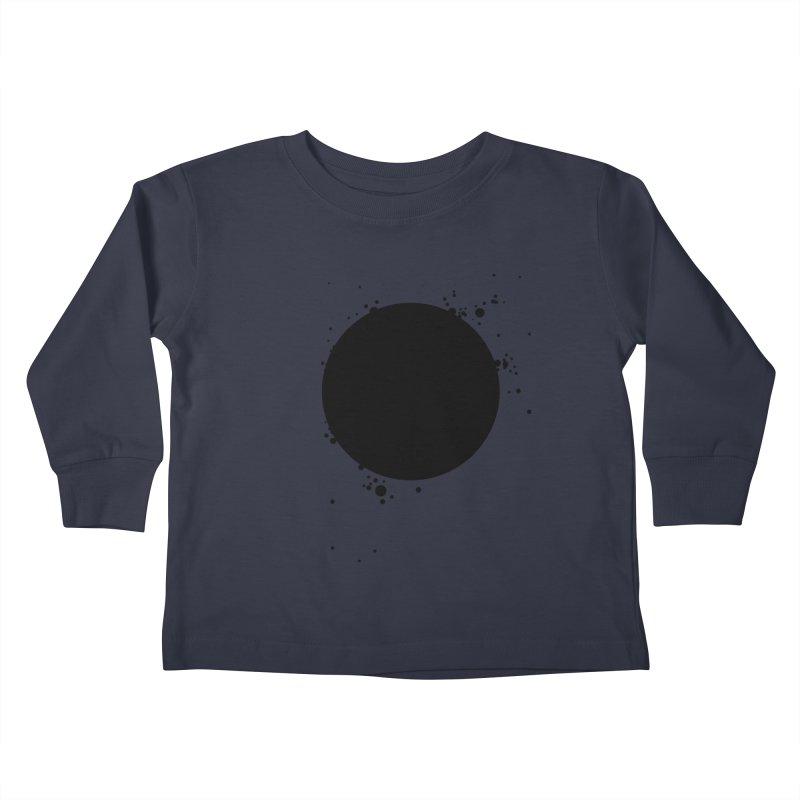 Black Hole Kids Toddler Longsleeve T-Shirt by I am a graphic designer