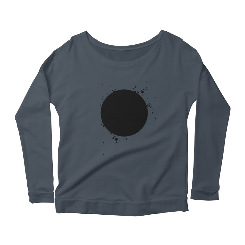 Black Hole Women's Scoop Neck Longsleeve T-Shirt by I am a graphic designer