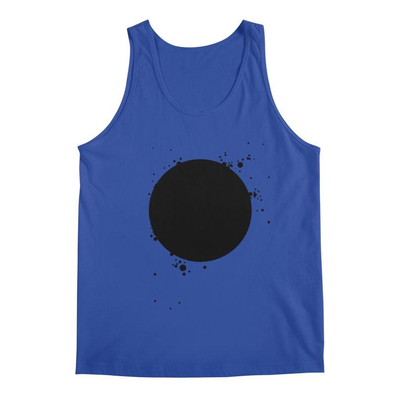 Black Hole Men's Regular Tank by I am a graphic designer