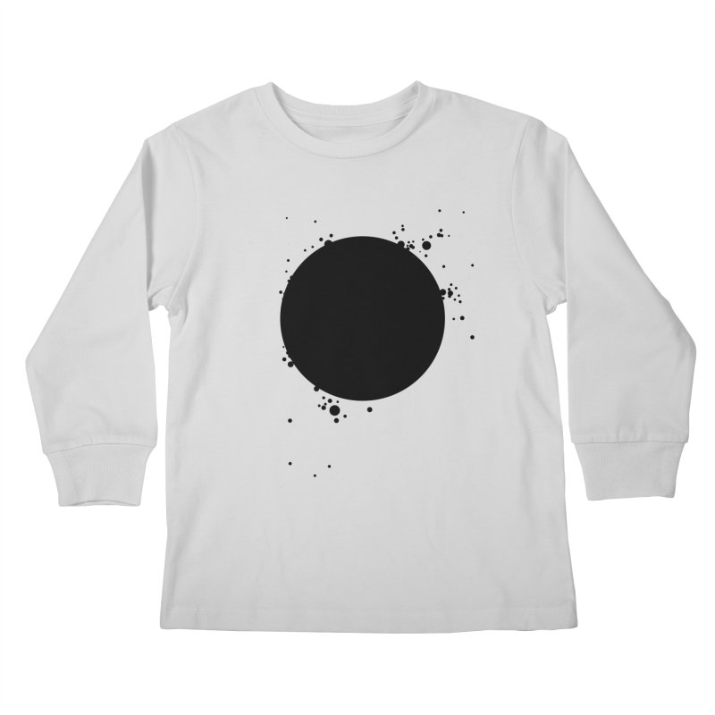 Black Hole Kids Longsleeve T-Shirt by I am a graphic designer