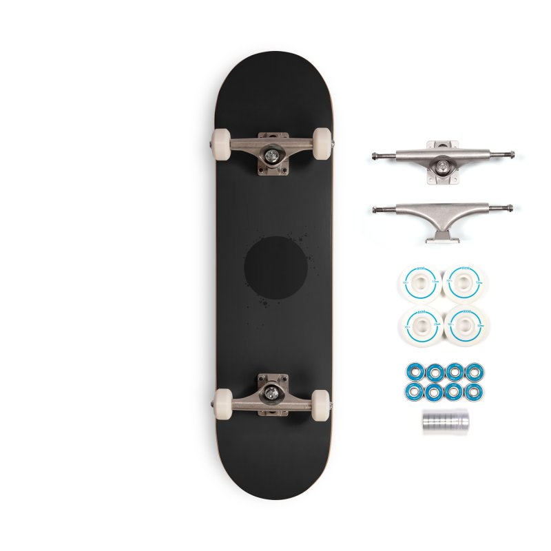 Black Hole Accessories Complete - Basic Skateboard by I am a graphic designer