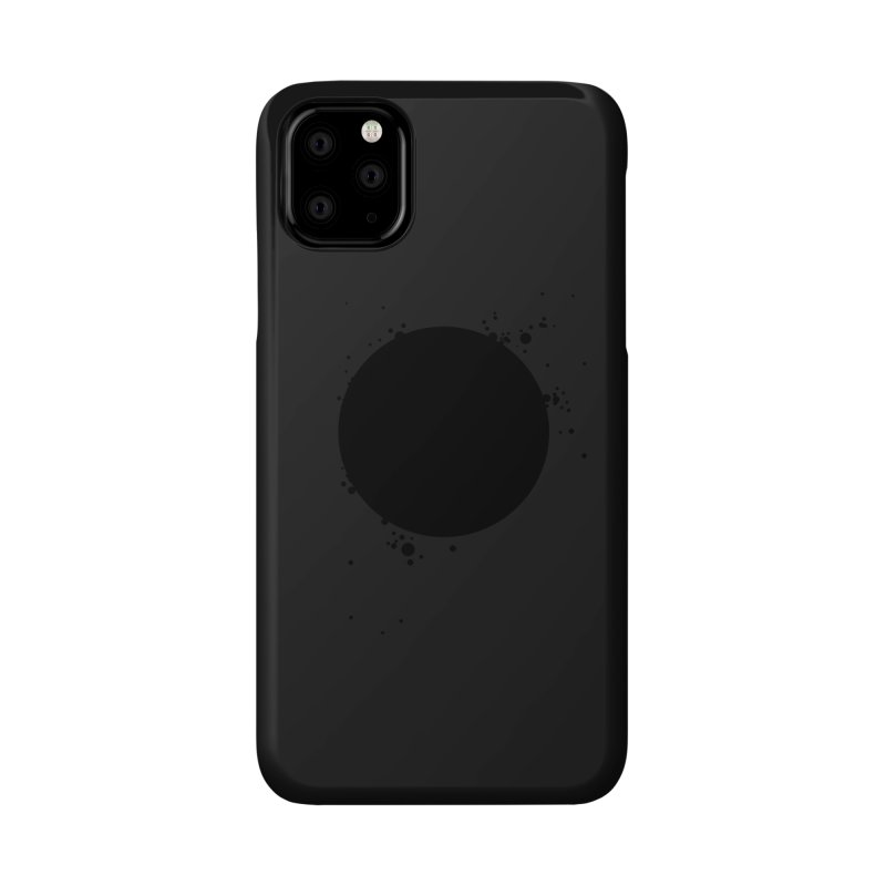 Black Hole Accessories Phone Case by I am a graphic designer