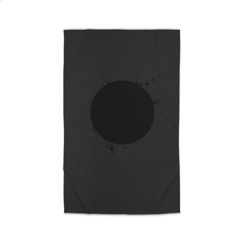 Black Hole Home Rug by I am a graphic designer
