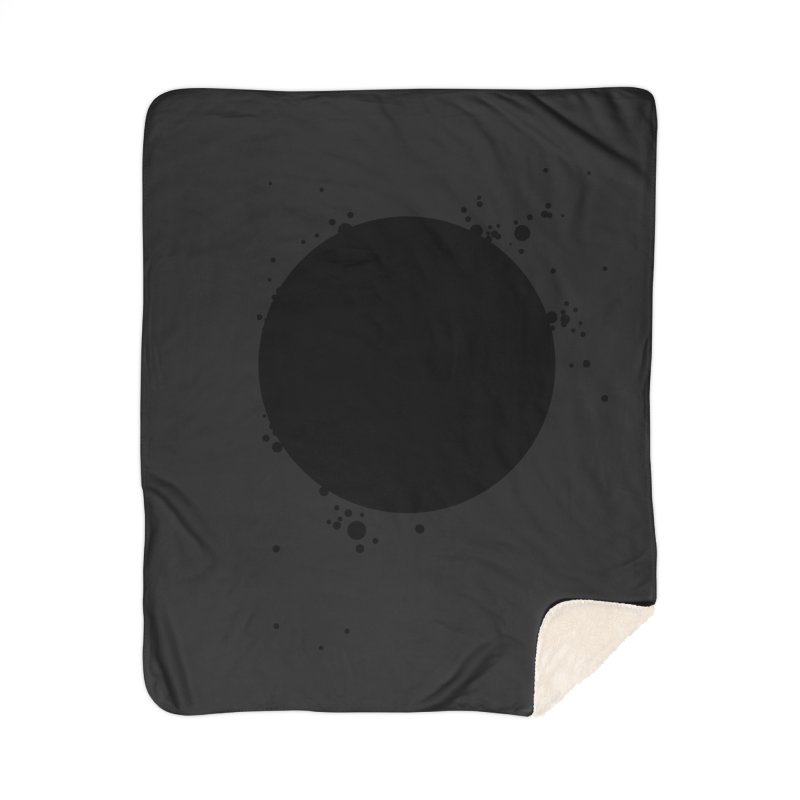 Black Hole Home Sherpa Blanket Blanket by I am a graphic designer