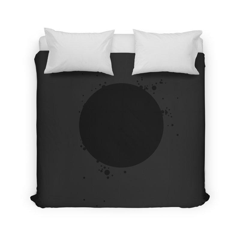 Black Hole Home Duvet by I am a graphic designer