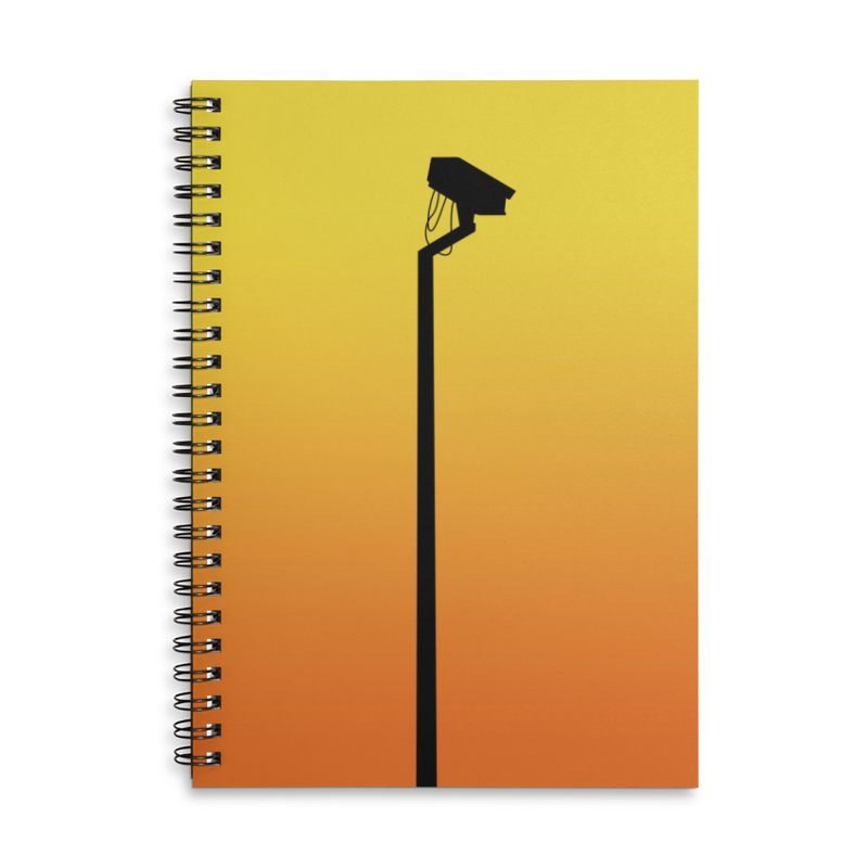 Celebrity Accessories Lined Spiral Notebook by I am a graphic designer