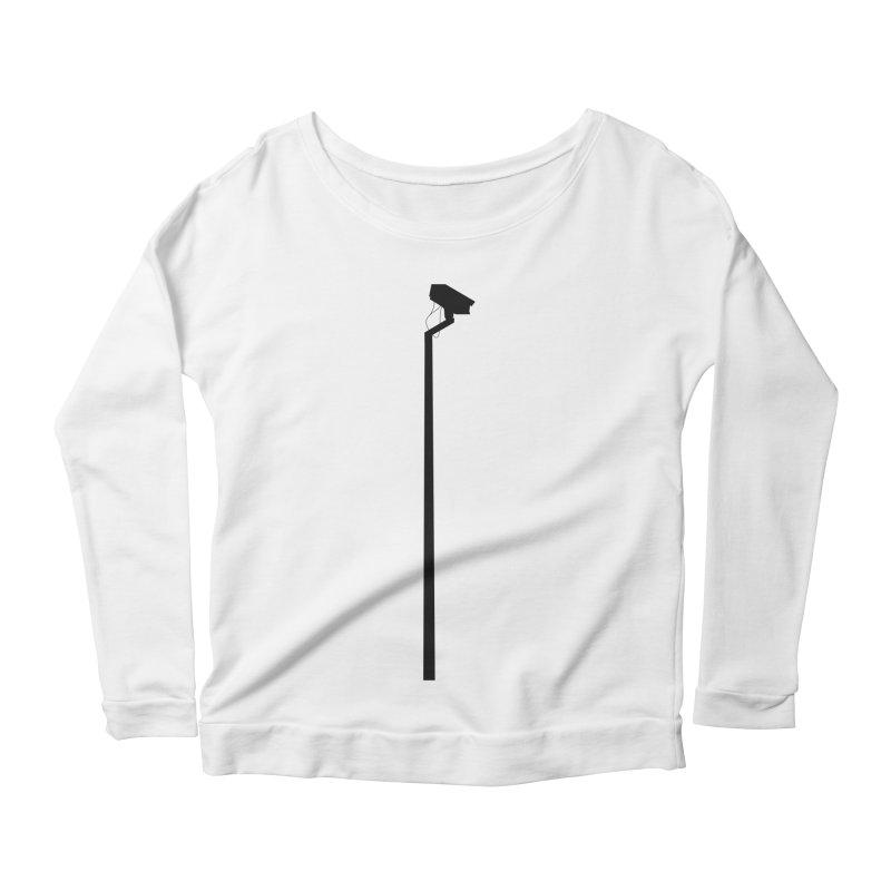 Celebrity Women's Scoop Neck Longsleeve T-Shirt by I am a graphic designer
