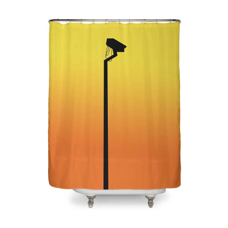 Celebrity Home Shower Curtain by I am a graphic designer