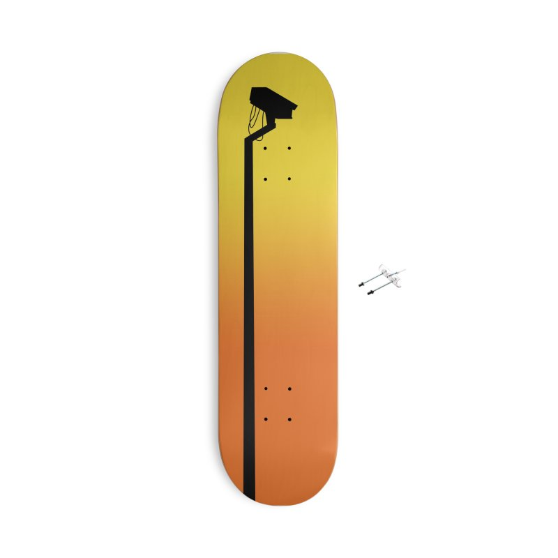 Celebrity Accessories With Hanging Hardware Skateboard by I am a graphic designer