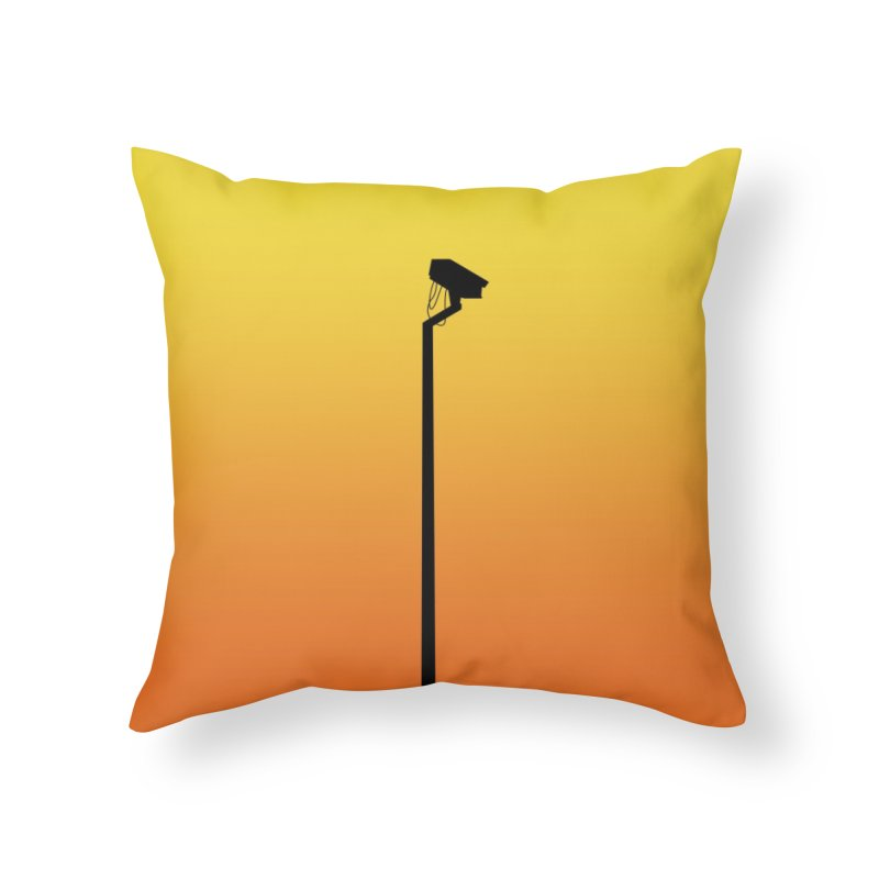 Celebrity Home Throw Pillow by I am a graphic designer