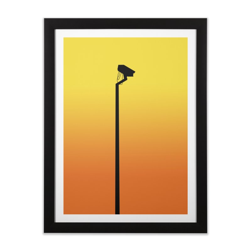 Celebrity Home Framed Fine Art Print by I am a graphic designer
