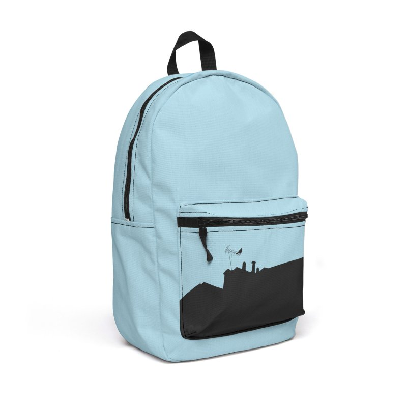 Solitary Accessories Backpack Bag by I am a graphic designer