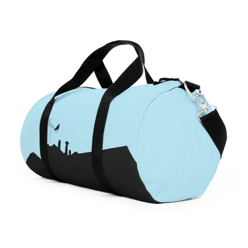 Solitary Accessories Duffel Bag Bag by I am a graphic designer