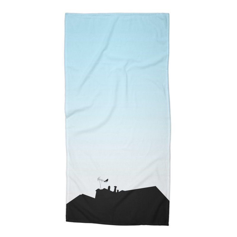Solitary Accessories Beach Towel by I am a graphic designer