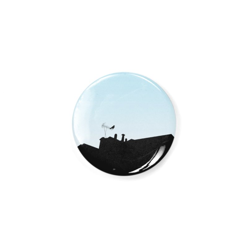 Solitary Accessories Button by I am a graphic designer