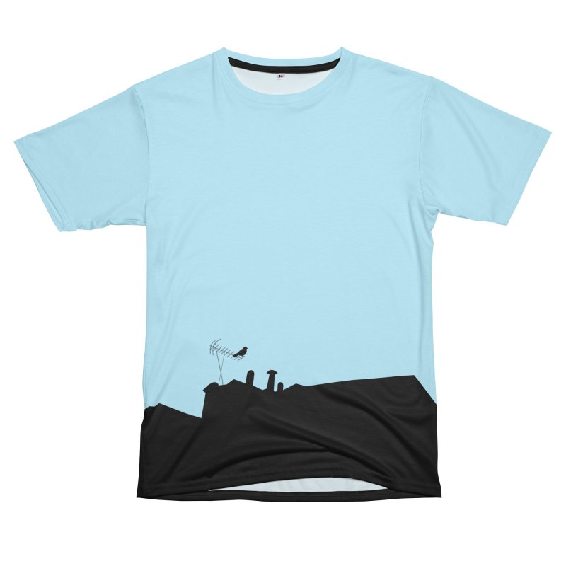 Solitary Men's T-Shirt Cut & Sew by I am a graphic designer