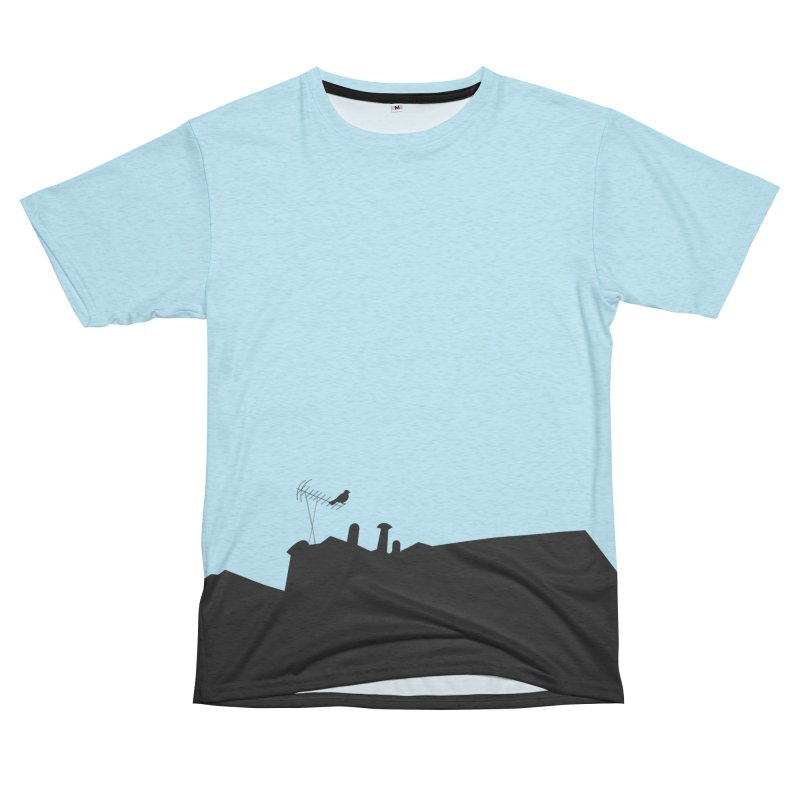 Solitary Women's Unisex French Terry T-Shirt Cut & Sew by I am a graphic designer