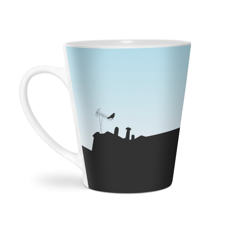 Solitary Accessories Latte Mug by I am a graphic designer