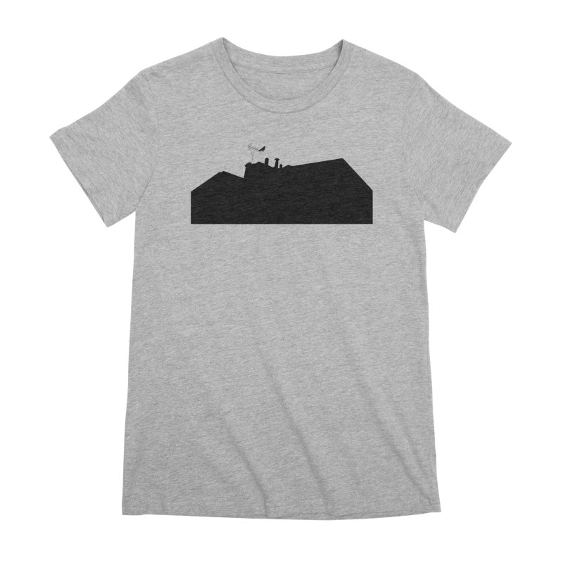 Solitary Women's Premium T-Shirt by I am a graphic designer