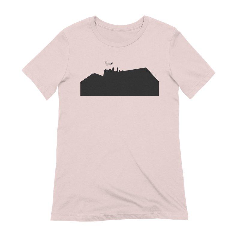 Solitary Women's Extra Soft T-Shirt by I am a graphic designer