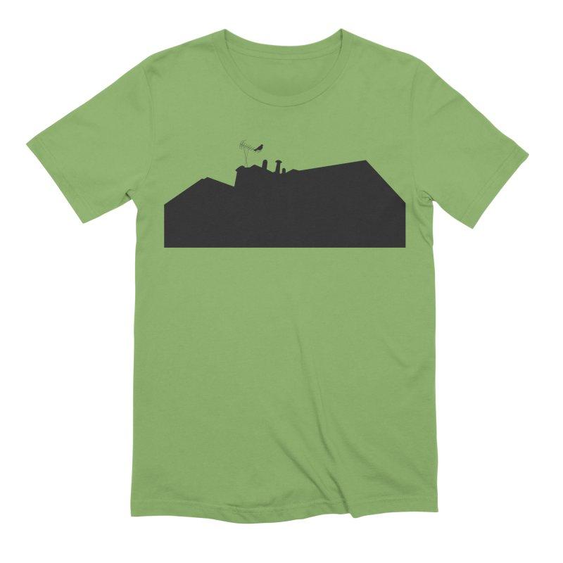 Solitary Men's Extra Soft T-Shirt by I am a graphic designer