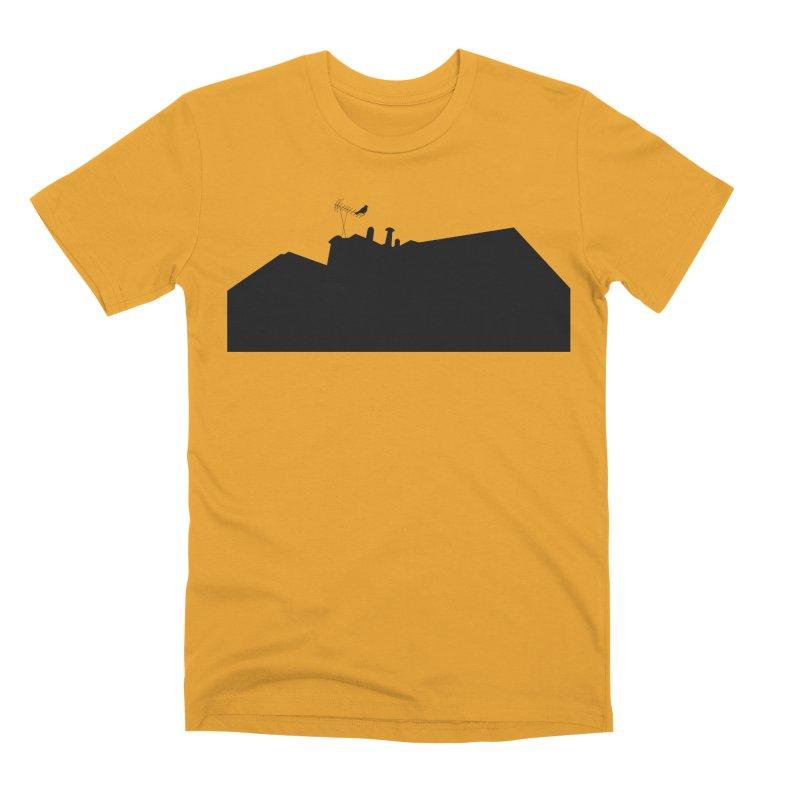 Solitary Men's Premium T-Shirt by I am a graphic designer