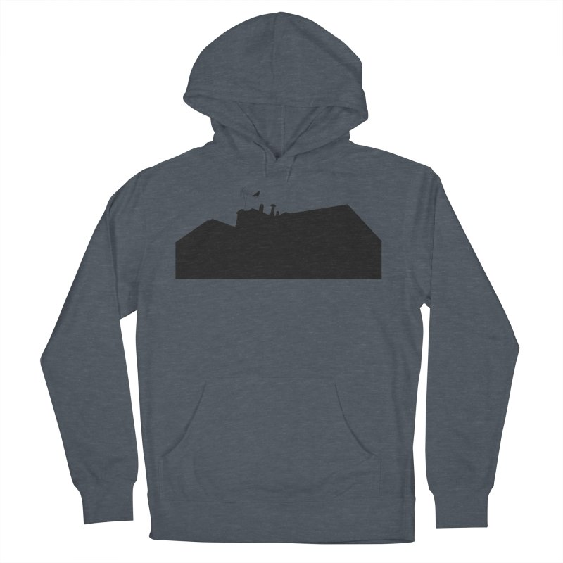 Solitary Women's French Terry Pullover Hoody by I am a graphic designer