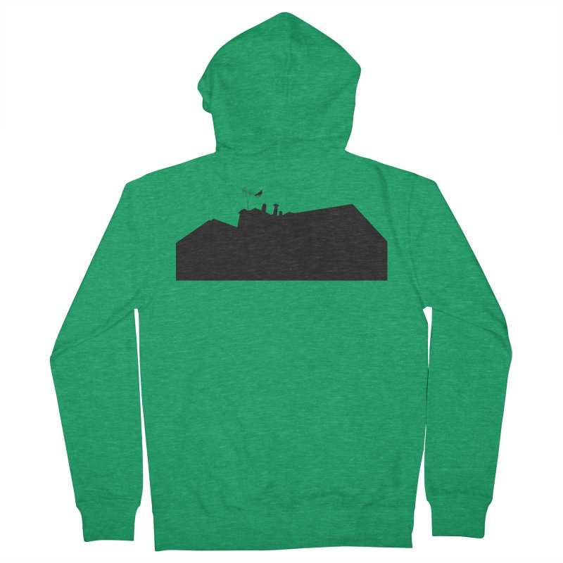 Solitary Men's French Terry Zip-Up Hoody by I am a graphic designer