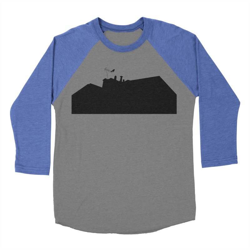 Solitary Men's Baseball Triblend Longsleeve T-Shirt by I am a graphic designer