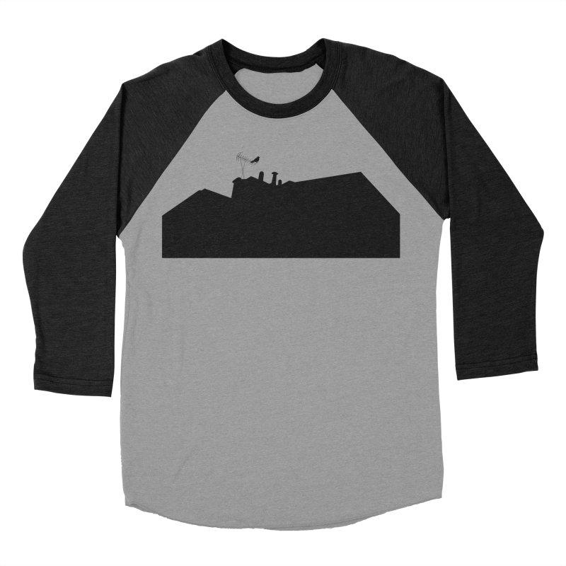 Solitary Men's Baseball Triblend Longsleeve T-Shirt by I am a graphic designer