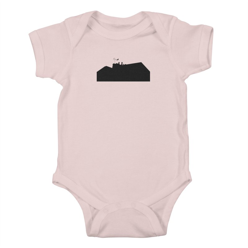 Solitary Kids Baby Bodysuit by I am a graphic designer