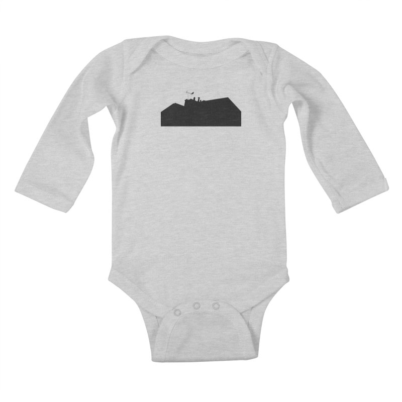 Solitary Kids Baby Longsleeve Bodysuit by I am a graphic designer