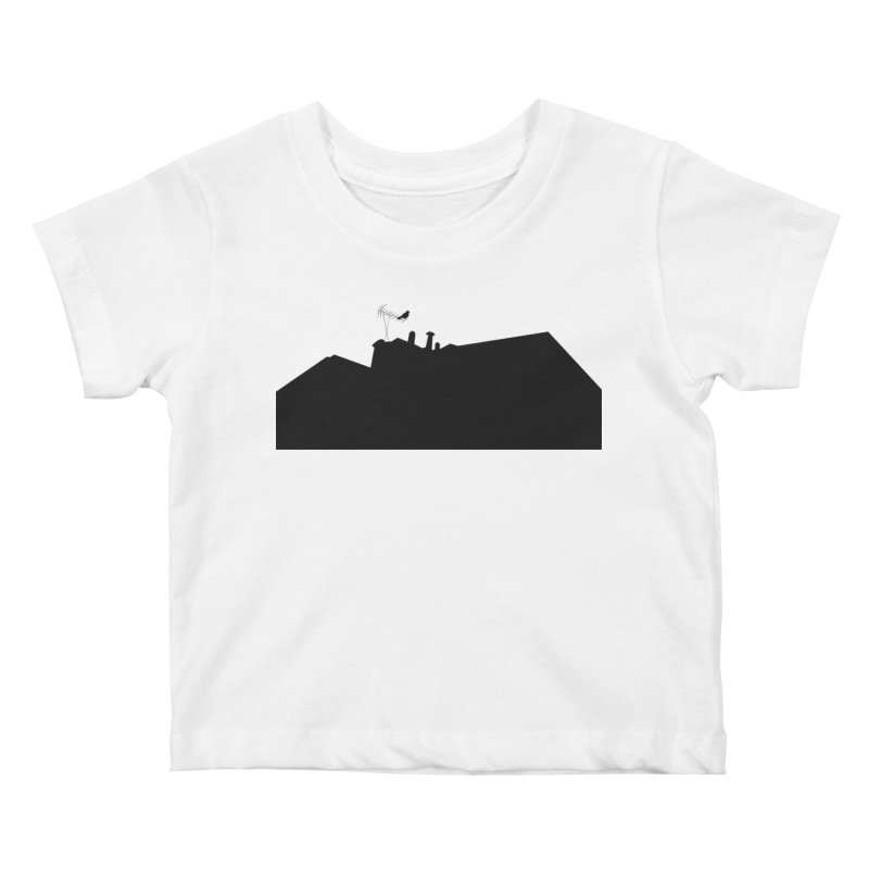 Solitary Kids Baby T-Shirt by I am a graphic designer