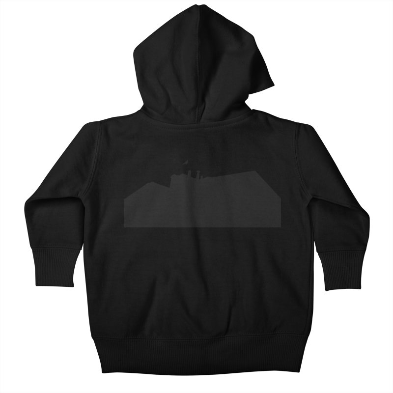 Solitary Kids Baby Zip-Up Hoody by I am a graphic designer