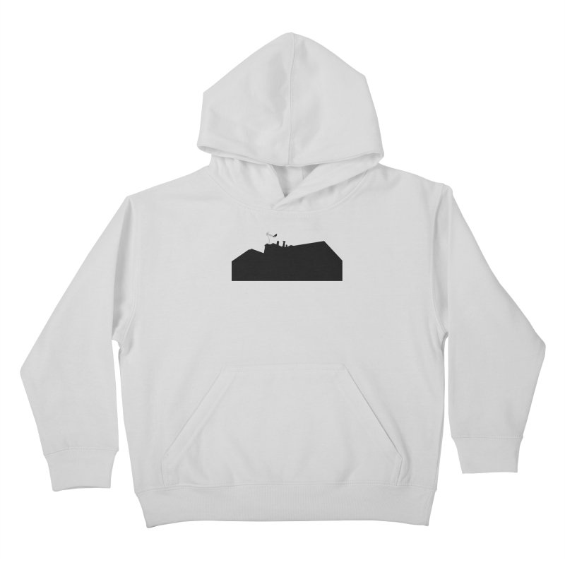 Solitary Kids Pullover Hoody by I am a graphic designer