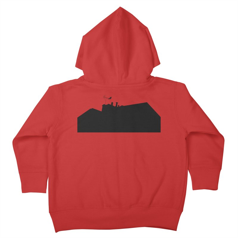Solitary Kids Toddler Zip-Up Hoody by I am a graphic designer