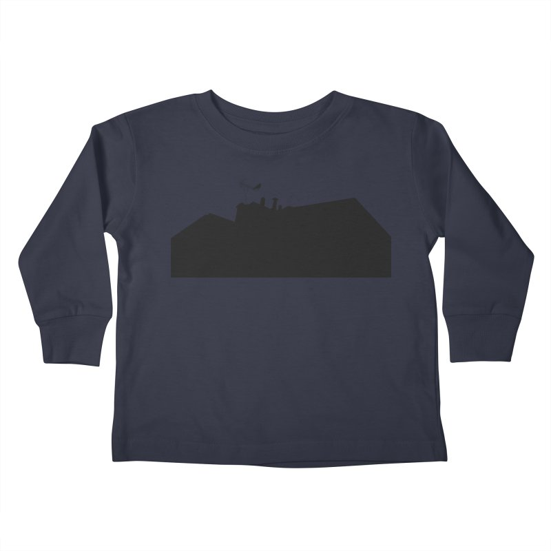 Solitary Kids Toddler Longsleeve T-Shirt by I am a graphic designer