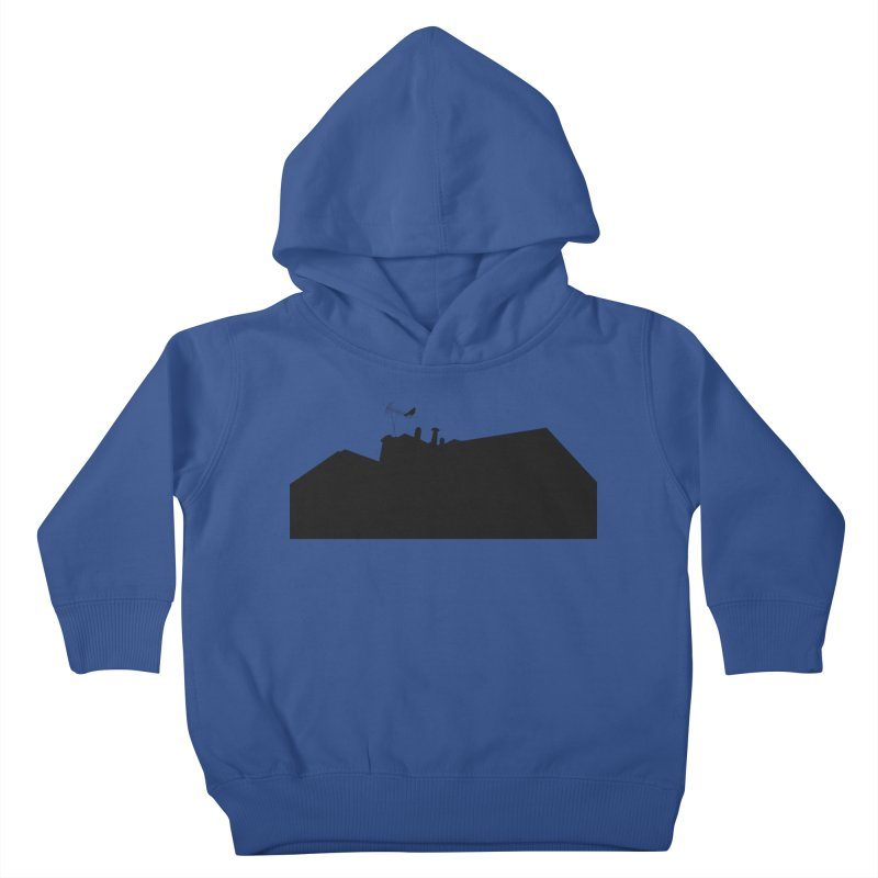 Solitary Kids Toddler Pullover Hoody by I am a graphic designer