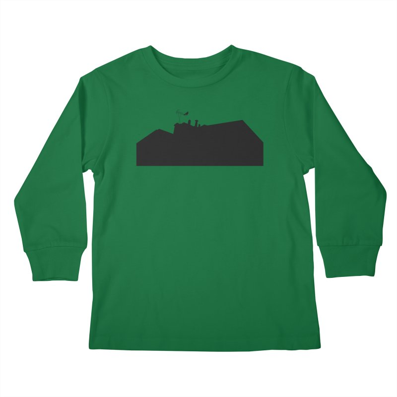 Solitary Kids Longsleeve T-Shirt by I am a graphic designer